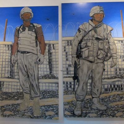 Afghanistan Canadian Forces Artist Program - 2010