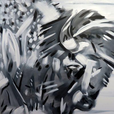 2021_paintings_bison-revolution_04_adrian-stimson