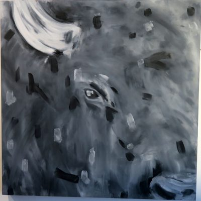 2021_paintings_bison-revolution_05_adrian-stimson