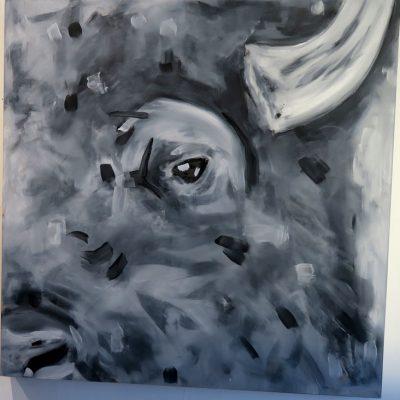 2021_paintings_bison-revolution_06_adrian-stimson