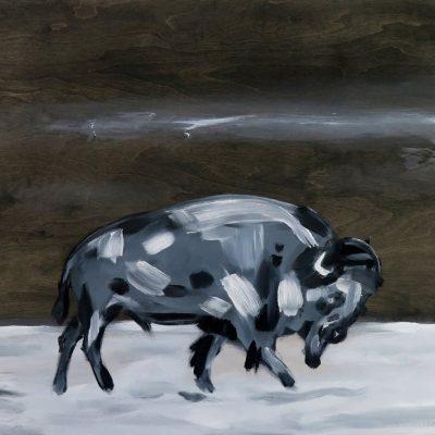 2021_paintings_bison-revolution_07_adrian-stimson