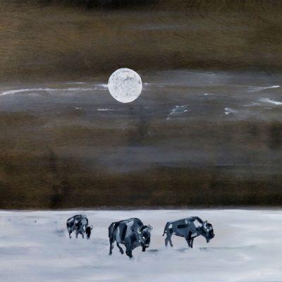 2021_paintings_bison-revolution_08_adrian-stimson